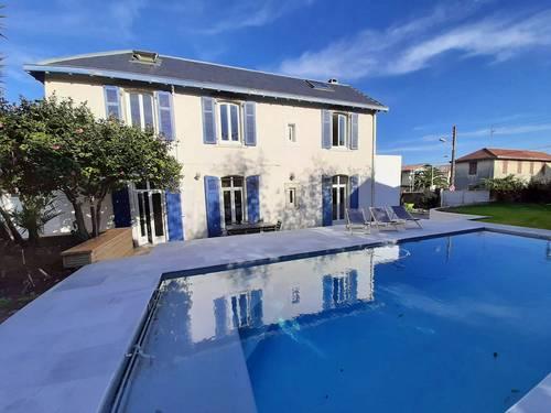 Loue villa Biarritz (64) avec Piscine 7couchages