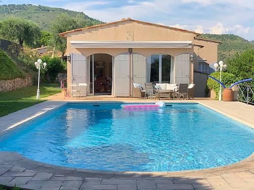 Loue villa dans les hauteurs de Nice (06) - 7couchages