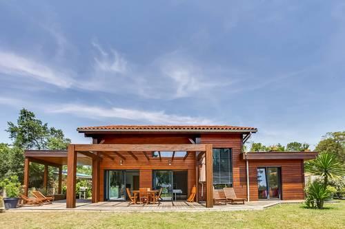 Loue villa ossature bois avec piscine 6couchages, Labenne (40)