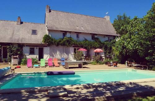 Propose location logis des Gabelous: 250m² proche Vallée de la Loire 25invités