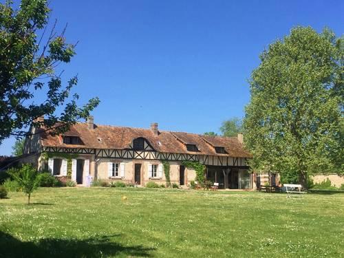 Loue longère Vallée de la Seine Saint-Pierre-du-Vauvray (27) - 4chambres, 10couchages
