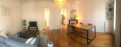 Loue appartement entièrement meublé et équipé de 56m² - 1chambre, Levallois-Perret (92)