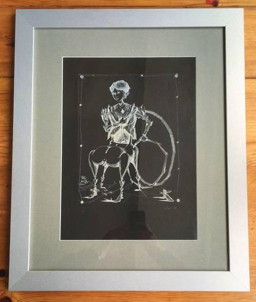 Vends Lucien COUTAUD Le Centaure 1948Lithographie Surréaliste
