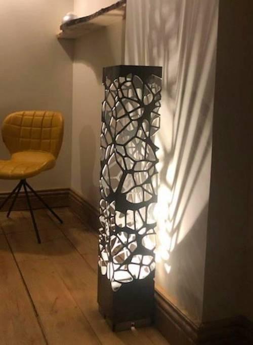 Luminaire design métal