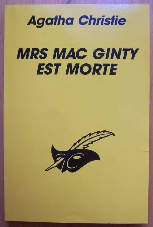 """Vends livre """"Mrs MacGinty est morte"""" - Agatha Christie (bon état)"""