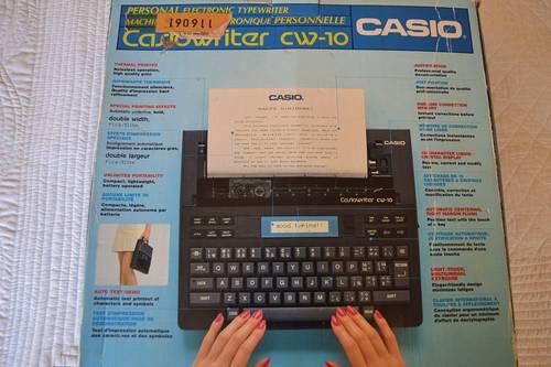 Vends machine à écrire électronique CASIO