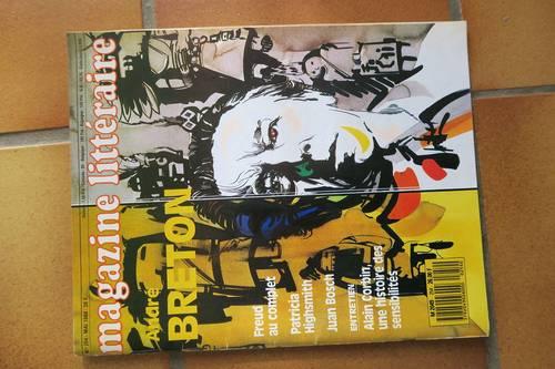 Magazine Littéraire, collection depuis années 85