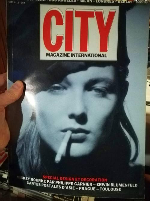 Lot de 33magazines CITY de juin 1984à janvier 1991