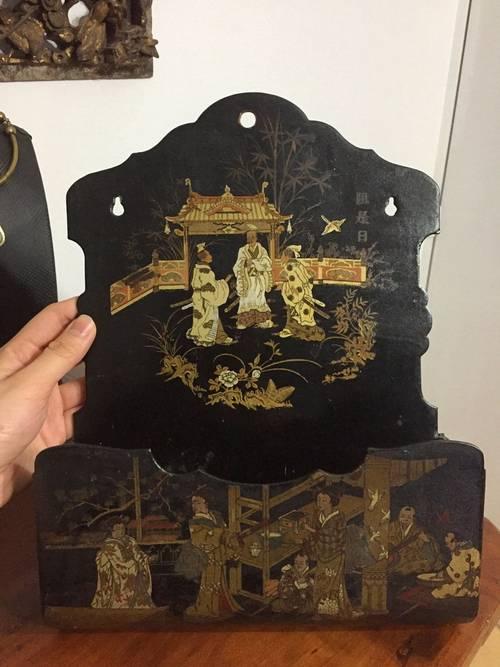 Magnifique décoration rare vide-poche