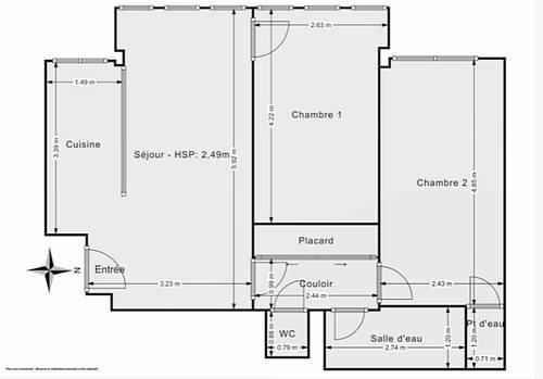 Vends Magnifique 3pièces - 51m² - Boulogne-Billancourt (92)