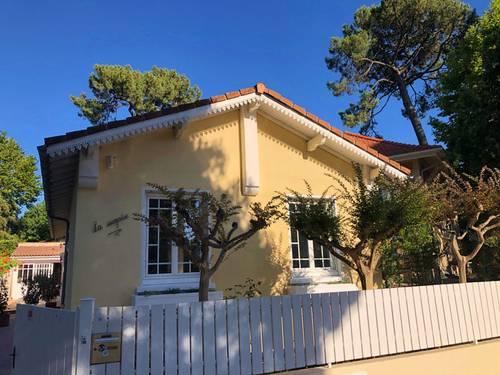 Loue maison 3chambres 6couchages - 10mn à pied plage et centre, Arcachon (33)