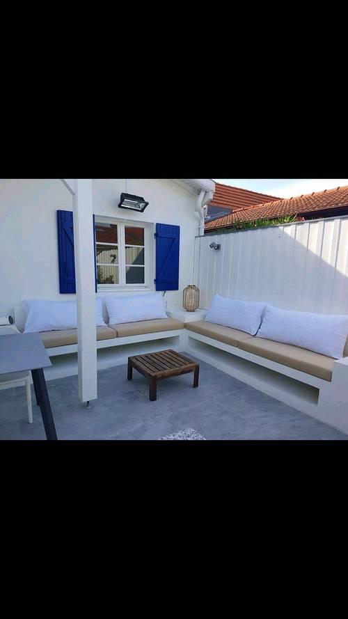 Loue maison entiérememt rénovée par architecte - 3chambres, 6couchages Arcachon (33)