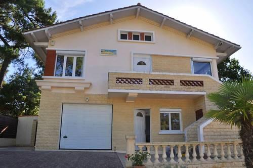 Loue maison 10couchages, piscine Arcachon quartier Abatilles