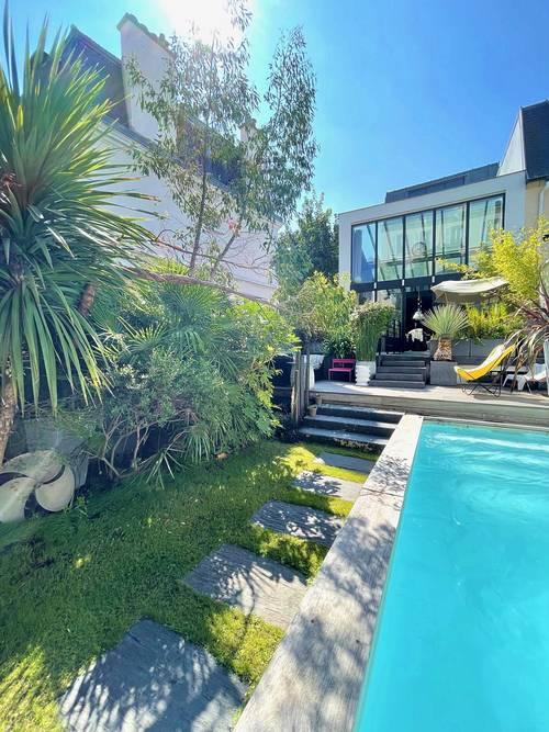 Vends Maison d'architecte quartier Bac Asnieres - 4chambres, 190m², Asnières-sur-Seine (92)