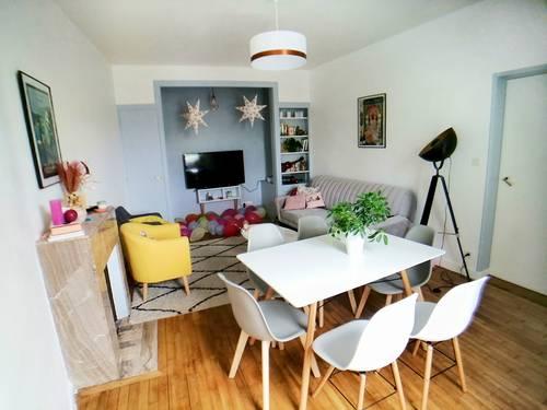 Vends maison atypique louée de 122m² idéalement située quartier Saint Serge - 5chambres, - Angers (49)