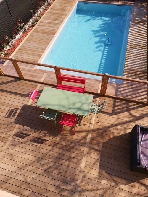 Loue maison 11couchages avec piscine chauffée BORDEAUX-CAUDERAN
