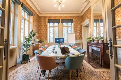 Maison bourgeoise et parc arboré, pour réunions de travail, 12p, Lyon