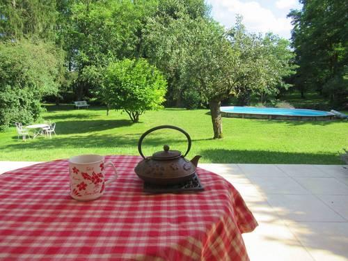Loue maison avec parc arboré en Bourgogne- 6couchages - Givry (71)