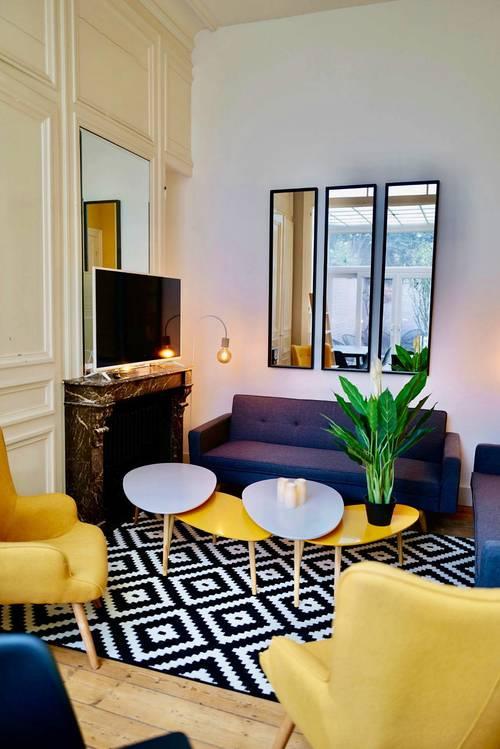 Propose Maison avec chambres individuelles en colocation à Lille (59)