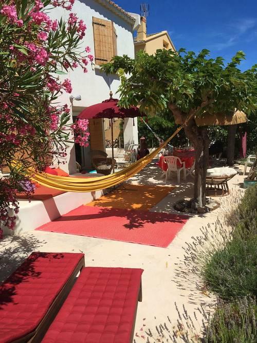 Loue maison de charme à 50m de la plage - 4chambres, 9couchages - Narbonne (11)