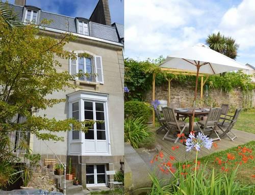 Loue maison Saint-Malo (35) juillet/Août. 250m plages, (9couchages)