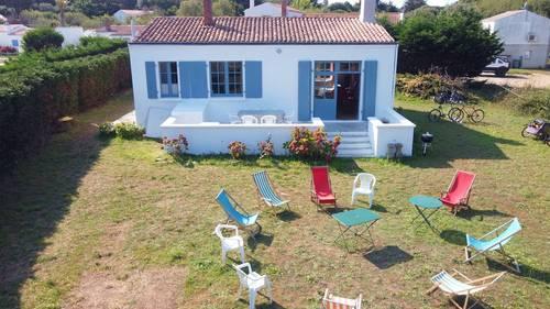 Loue notre maison de vacances - Ile d'Yeu - 6couchages - 80m² - grand jardin
