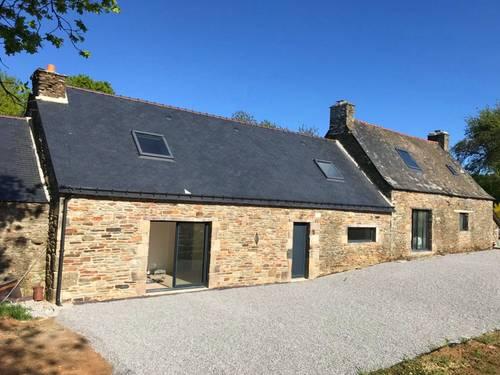 Loue Maison double 14couchages INTO THE WILD Saint-Brigitte (56)