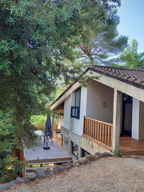 Loue maison Côte d'Azur, 5couchages, 2chambres à Antibes (06)