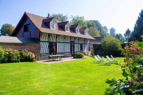 Loue maison 10couchages entre la Baie de Somme et le Tréport