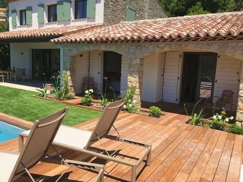 Loue maison à La Croix Valmer (Golfe de St Tropez) 8couchages