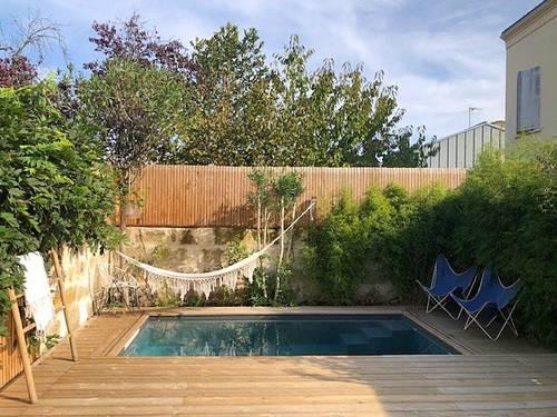 Maison familiale très calme avec piscine - 7couchages