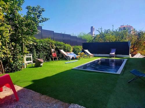 Loue maison familiale jardin piscine Antibes (06) - Disponible du 23au30octobre - 8couchages