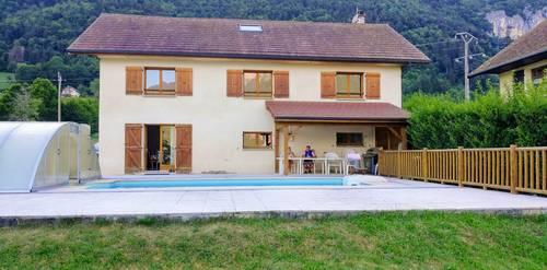 Loue maison familiale 12couchages lac d'Annecy