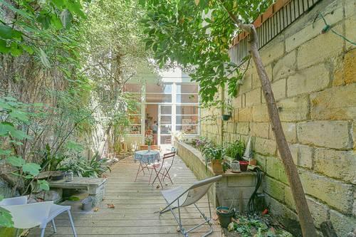 Vends maison familiale quartier Jardin Public 5chambres terrasse rue calme - 200m² - Bordeaux (33)