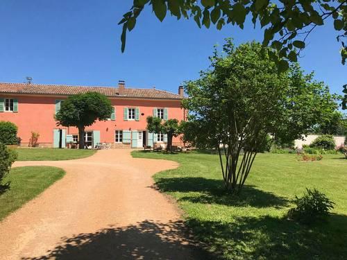 Loue maison de famille avec piscine, 10couchages, Bourgogne du sud, Crêches-sur-Saône (71)