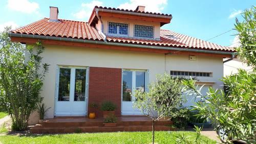 Loue maison T6à Fonsorbes (Ouest Toulouse - 31) de janvier à août 2022- 4chambres, 125m²