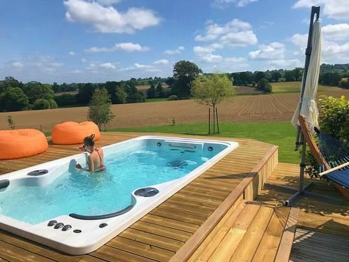 Loue maison 8couchages, 4chambres avec Spa de nage à 38°, Normandie,Sept-Frères (14)