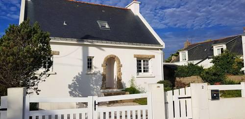 Loue maison Presqu'île de Gavres (56) 7-8 couchages 3min/plage