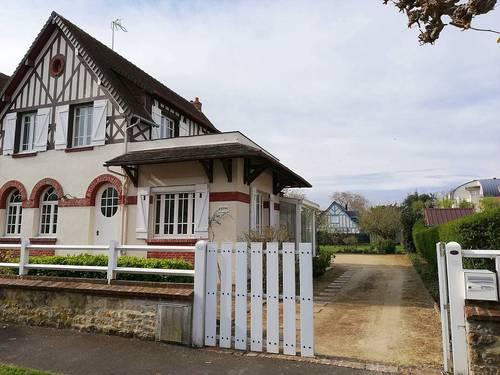 Loue maison avec jardin et véranda à Cabourg (14) - 6couchages