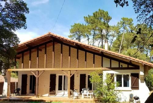 Location Maison familiale landaise, quartier résidentiel- 7couchages - Soorts-Hossegor (40)