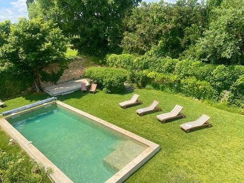 Loue Maison de Maître à UZÈS centre, avec piscine et 12couchages