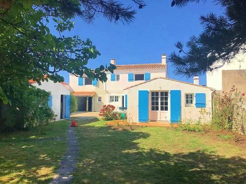 Loue Noirmoutier-en-l'Ile maison 170m², 10couchages, jardin arboré