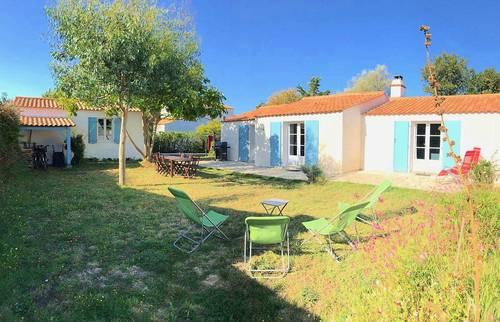 Loue maison à Noirmoutier-en-l'île (85), 7couchages, 3chambres, entre plages et centre ville