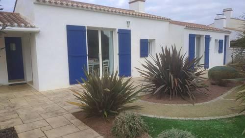 Maison**** à Noirmoutier (85), proche plages et centre, 8couchages, 4chambres