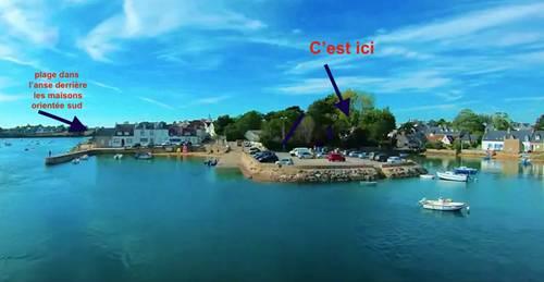 Loue maison les pieds dans l'eau 4couchages - Plouhinec (56)