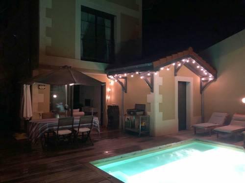 Loue maison - 4chambres, 8couchages avec piscine, Arcachon (33)