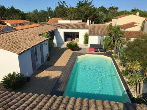 Loue maison avec piscine - île d'Oléron (17) - 4chambres 10couchages