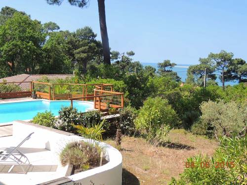 Loue RDC de maison rénovée avec piscine, 7/8couchages - Pyla (33)