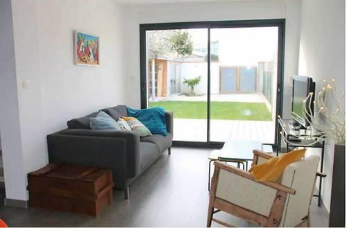Loue Maison La Rochelle centre ville avec jardin - 3chambres 6couchages