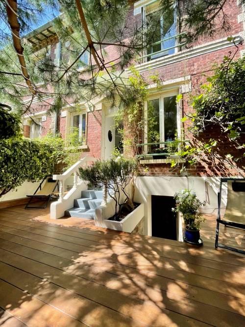 Vends - RARE - maison de 91m² avec terrasse - 2chambres, Asnières-sur-Seine (92)